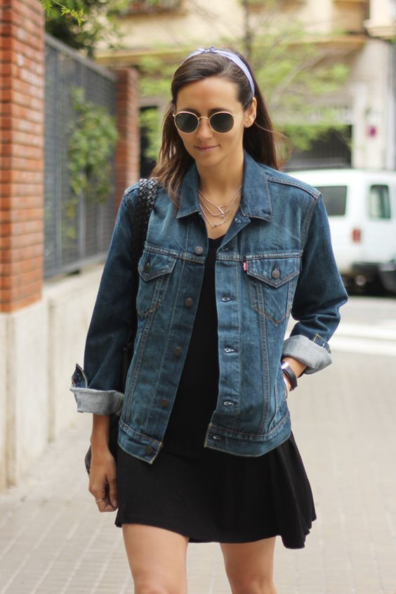 Denim Jacket + Dress