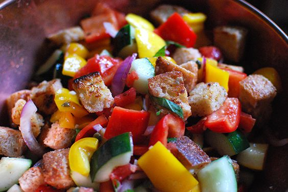 panzanella recipe for the end of summer | colleen ludovice for a blog named scout