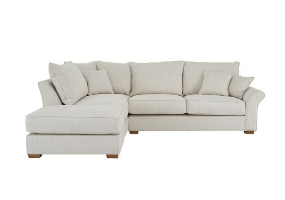 Carnaby Corner Chaise with Footstool - Collins and Hayes - Furniture Village