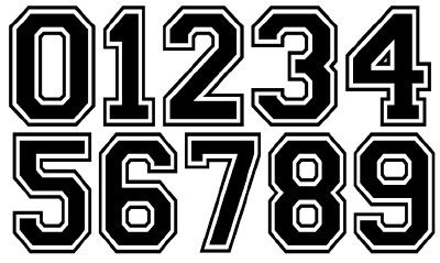 Baseball Jersey Numbers And Letters