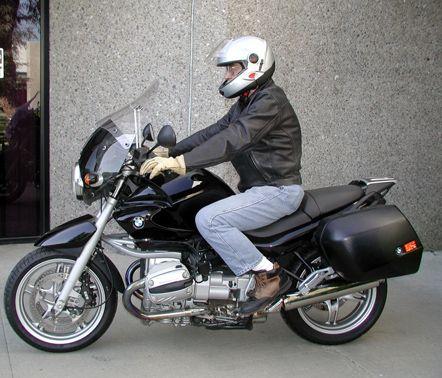 Aeroflow 2 piece sport fairing (windscreen) for BMW R1150R