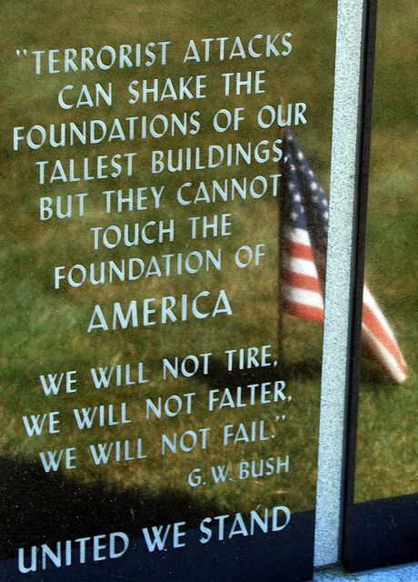 911 memorial quotes.....our country and president needs prayer.