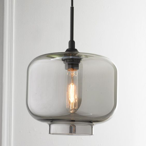 Colors, Glass Pendants And Chic On Pinterest