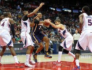 Blog Esportivo do Suíço: Atlanta Hawks vence, soma 14 vitórias consecutivas e iguala recorde na NBA