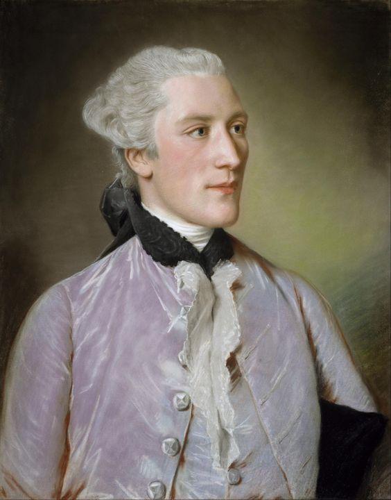 1762 or 1766 Jean-Étienne Liotard - Jean-Louis Buisson-Boissier: