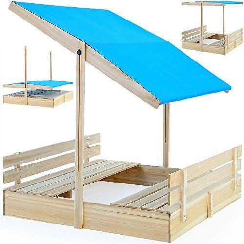 Bac à sable 120x120 avec pare-soleil et bancs intégrés jeux enfants Deuba http://www.amazon.fr/dp/B00UZ9VDWA/ref=cm_sw_r_pi_dp_34fvvb0BMVRDC