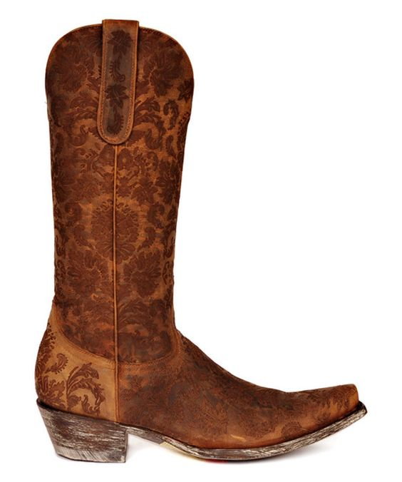 Look at this Old Gringo Saddle Damask Nadia Leather Western Boot on #zulily today!
