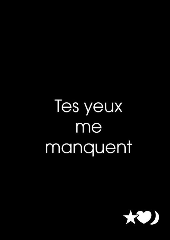 Tes yeux me manquent. 24 mai 2015.