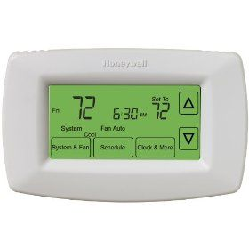 Honeywell Rth7600d Touchscreen 7 Day Programmable