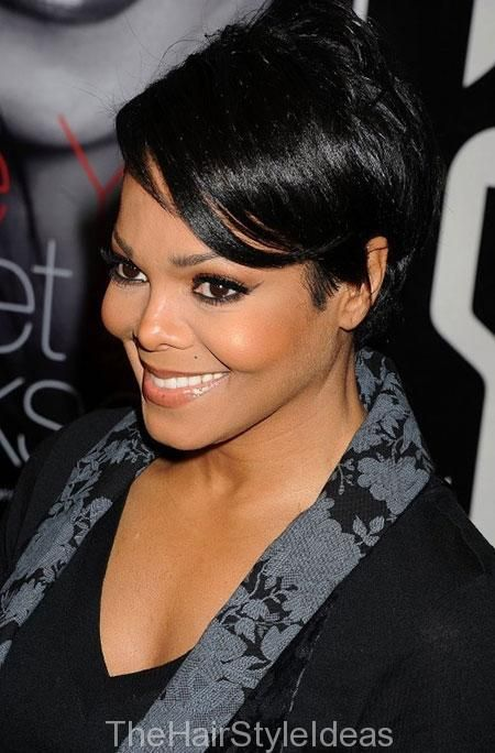 Short Straight Layered Haircuts for African American Women