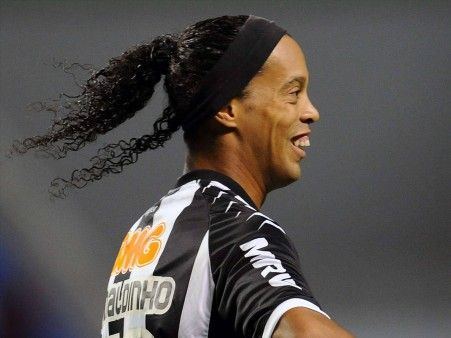 Ronaldinho Hair Style
