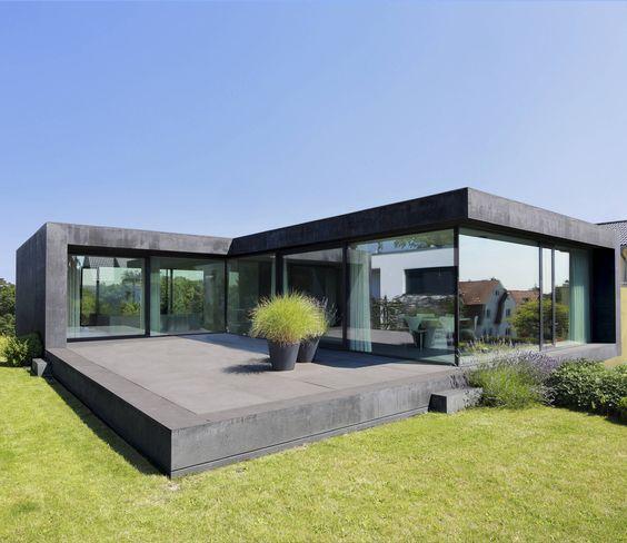 haus modern fassade holz und - Google-Suche Traum Häuser