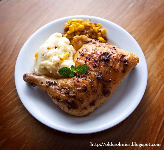 Roasted chicken legs, Chicken legs and Chicken leg quarters on ...