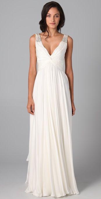 Modern Winter Wedding Dresses : Wedding dresses winter weddings beach