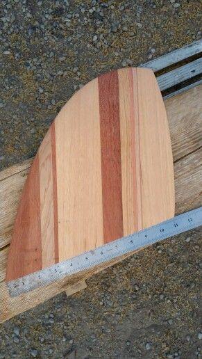 surfboard fin bois