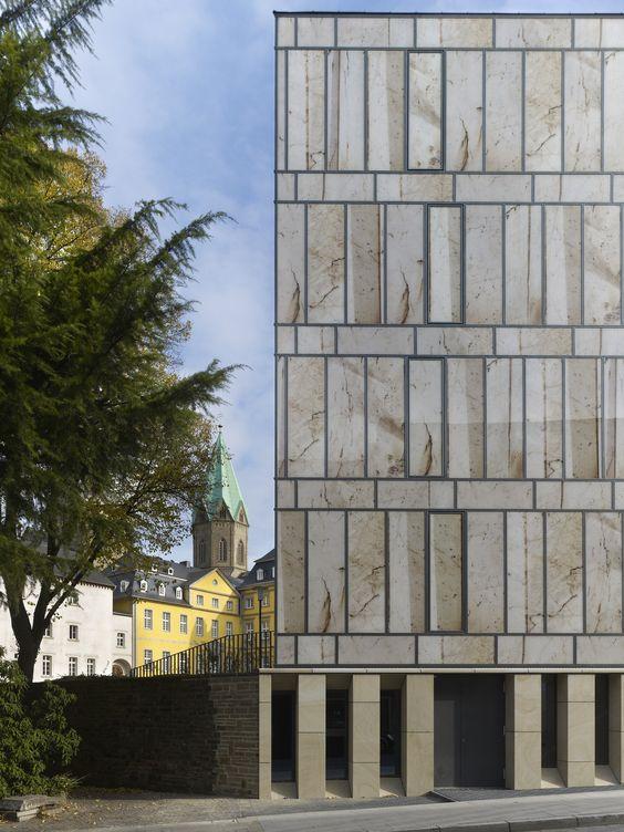 Biblioteca Folkwang, Max Dudler