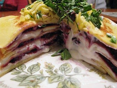 Cream cheeses, Crepe cake and Juice on Pinterest