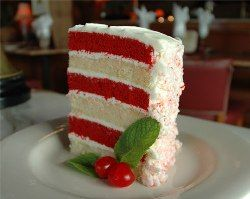 Red Velvet and White Cake