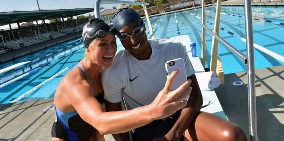 U.S. Olympic Athlete Elizabeth Beisel and Perry Baker Are Built, Not Born