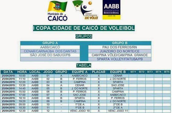 Portal Esporte São José do Sabugi: Seleção de Vôlei de São José do Sabugi disputará a...