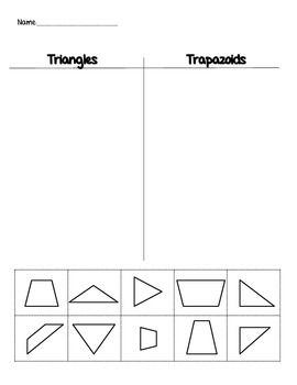 this is a cut and sort worksheet where students will decide weather the 2d shape is a triangle. Black Bedroom Furniture Sets. Home Design Ideas
