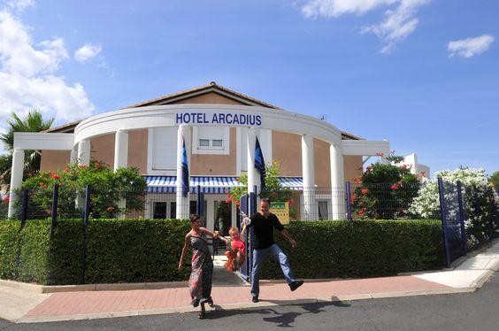 La résidence Arcadius de Balaruc les Bains