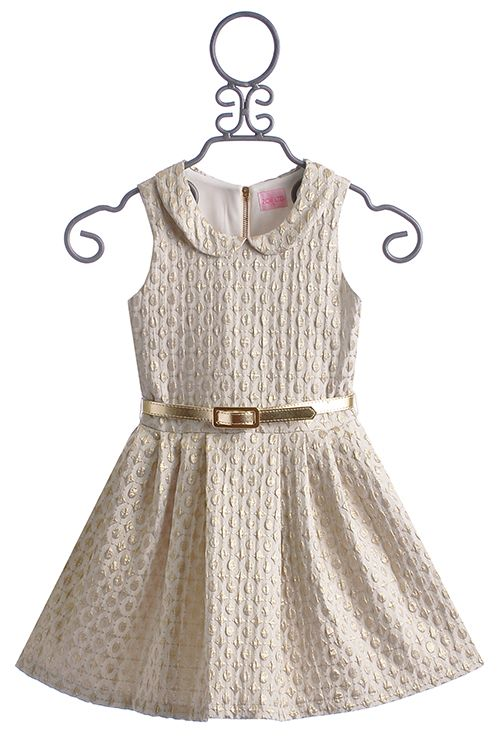 Zoe LTD Tween Party Dress Peter Pan Gold  Dress  Pinterest ...