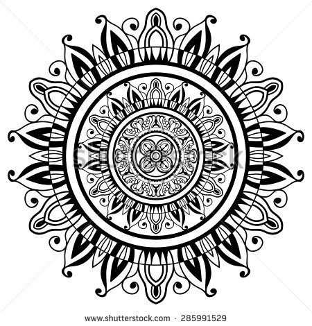Stock Images similar to ID 267508727 - mandalas collection. round...
