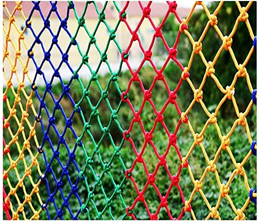 TorchJPA Rope Net Outdoor Courtyard Safe Net Staircase Protection Net Fall Prevention Net Fall Prevention Net Beautiful Decor Safety Climbing Material Humidity and Cold Resistant Rope