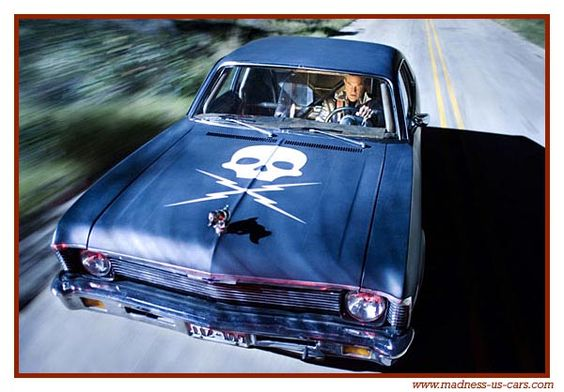 Classic Movie Cars: 1971 Chevrolet Nova (Death Proof) love it!!!