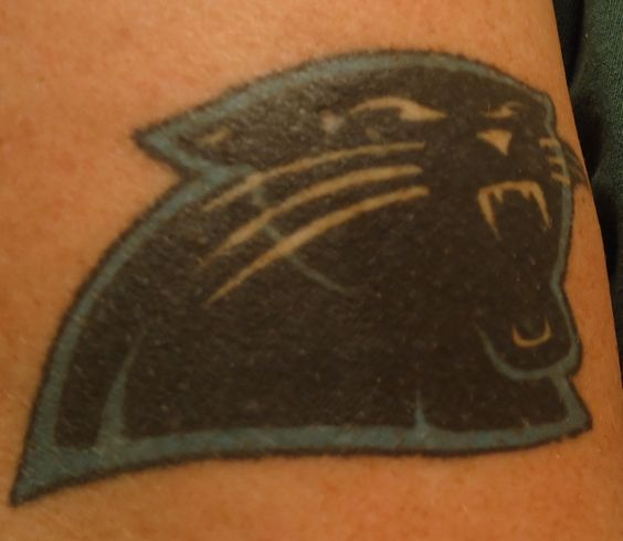 My panther tattoo d carolina panthers pinterest for Carolina panthers tattoos
