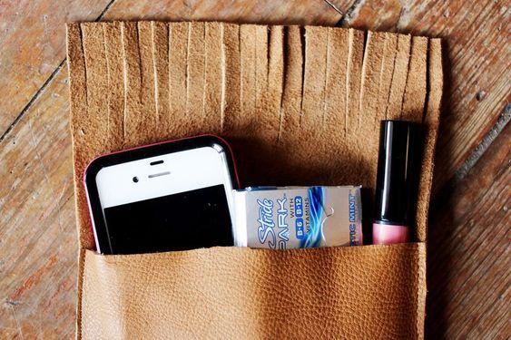 Leather Pocket Purse 2