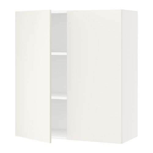Sektion Wall Cabinet With 2 Doors White Veddinge White 36x15x40 Ikea 146 For The New