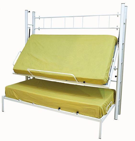 Literas abatibles para camas infantiles y juveniles for Camas literas juveniles