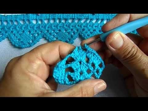 Bico Em Croche Carreira Unica 140 Youtube Bico De Croche