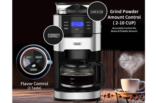 10 Best Portable Coffee Makers With Grinder For Home Reviews In 2020 In 2020 Coffee Maker With Grinder Portable Coffee Maker Iced Tea Maker