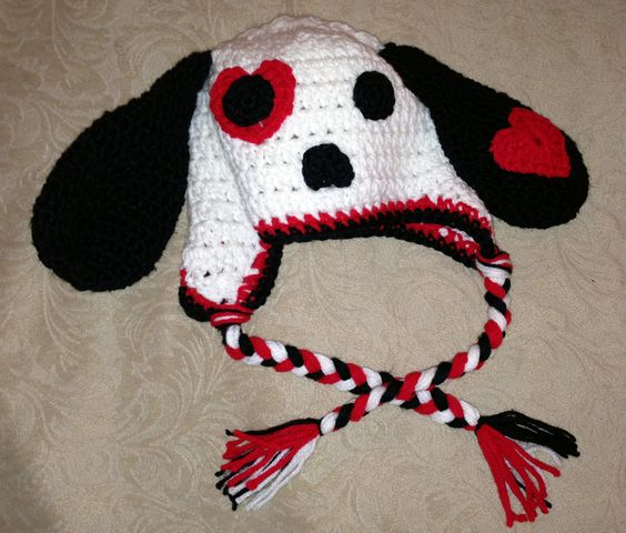 Crochet Pattern For Dog Hat With Ear Holes : Pinterest The world s catalog of ideas