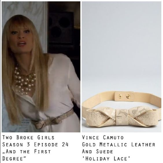 NWOT Bow belt Vince Camuto gold metallic NWOT.  Metallic/tan belt.  Super cute with skirts as shown.  A good neutral Vince Camuto Accessories Belts