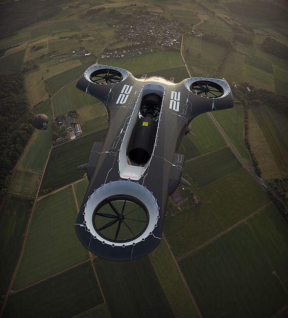 futuristic vehicle: