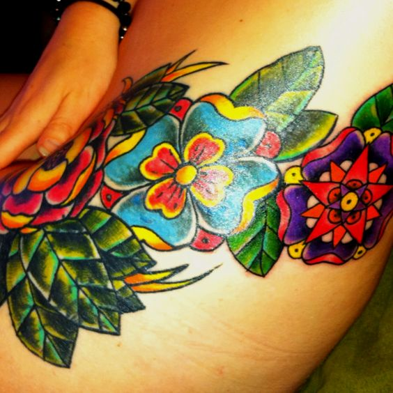 The O Jays A Symbol And Nature: My Hip Tattoo. Flowers That Don't Exist In Nature.