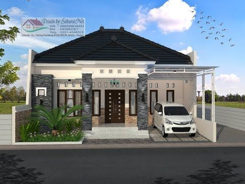 Modern House 10x11 5 3 K Tidur Desain Rumah Minimalis Lantai 1 Youtube Desain Rumah Rumah Minimalis Home Fashion