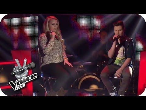 John Legend - All Of Me (Jasmin, Richard) | The Voice Kids 2014 | BATTLE | SAT.1 - YouTube