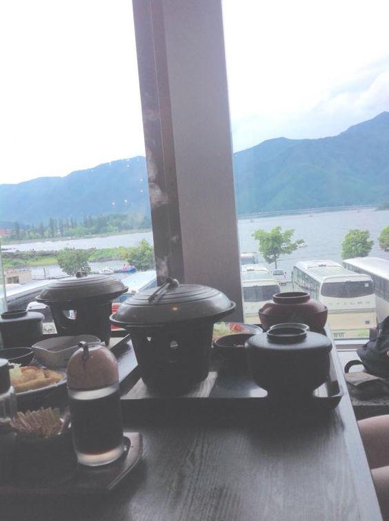 Un restaurant vraiment chouette à côté du Mont Fuji