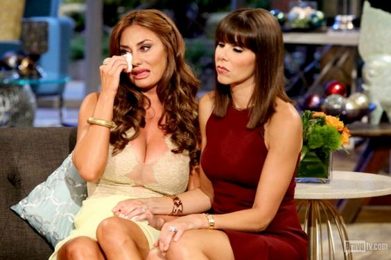 Lizzie calls Tamra a bitter old lady for not understanding how humiliated and hurt she was. Tamra says Lizzie doesn't value family to not understand her daughter needed her... Read more and join in at: http://www.allaboutthetea.com/2014/09/02/rhoc-reunion-recap-part-2/