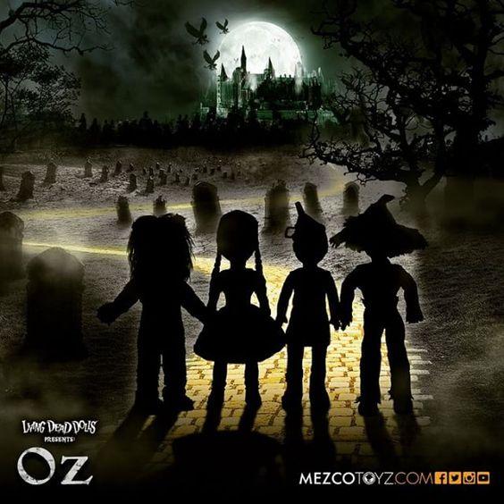 Living Dead Dolls in Oz.  #livingdeaddolls #wizardofoz