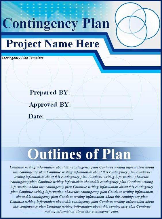 contingency plan template wordstemplates Pinterest - medical certificate for sick leave