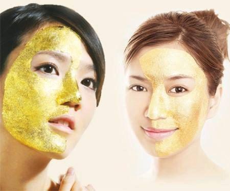 Image result for gold skin masque