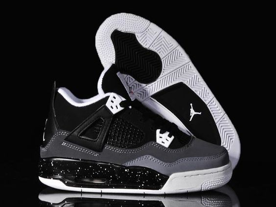 Mens Air Jordan Retro 4 White shoes