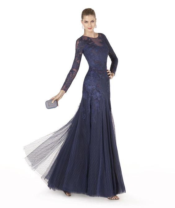 Pronovias apresenta o vestido de festa AMI da coleção 2015.   Pronovias