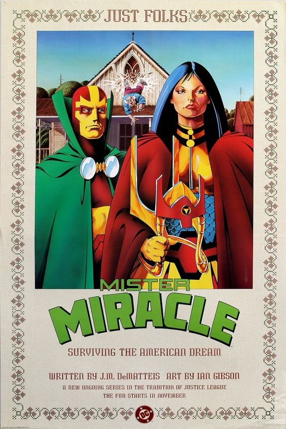 Mister Miracle and Big Barda: Surviving The American Dream by Ian Gibson